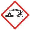 Gefahrensymbol NEU - Ätzend